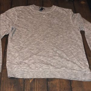 H&M Men's Sweater. Light gray. Size L
